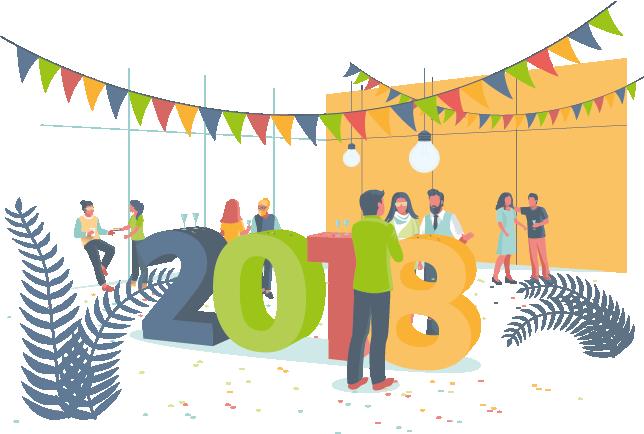 Proselis vous souhaite ses meilleurs vœux 2018